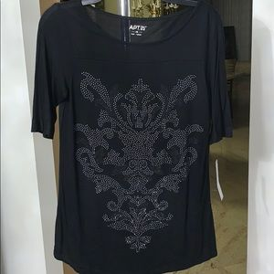 NWT Embellished Top